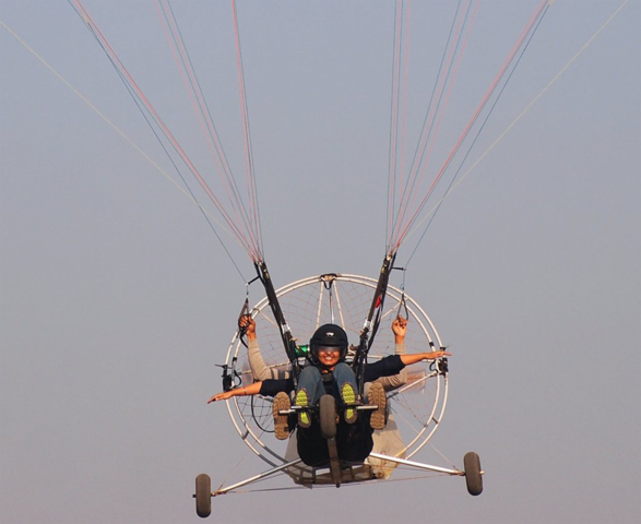 Tandem Paramotoring -15 Minutes gurgaon | Timings, Entry Fee