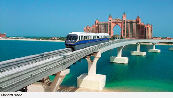 Afbeeldingsresultaat voor dubai monorail
