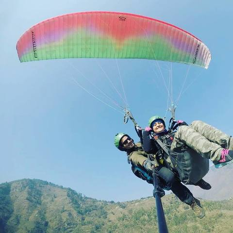 Paragliding in manali | Paragliding Experience in manali