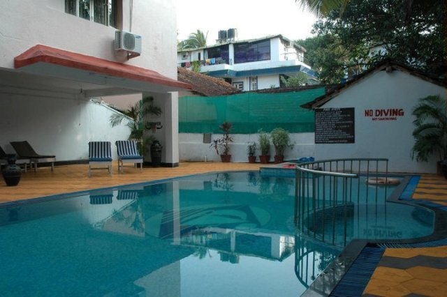Don hill beach resort goa use coupon code freedom for Kingfisher swimming pool prices