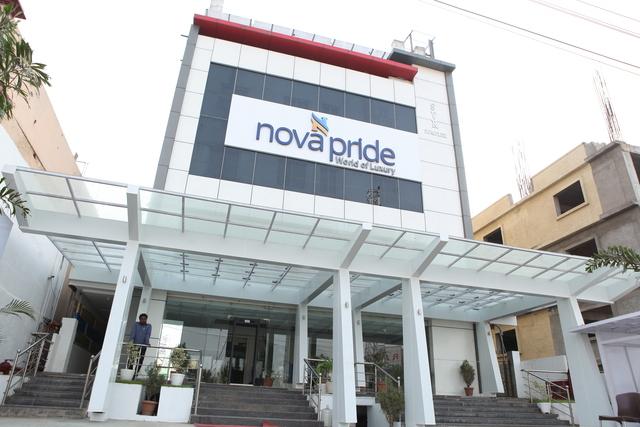 Hotel Front Elevation Images : Nova pride hotel hyderabad use coupon code gt festive