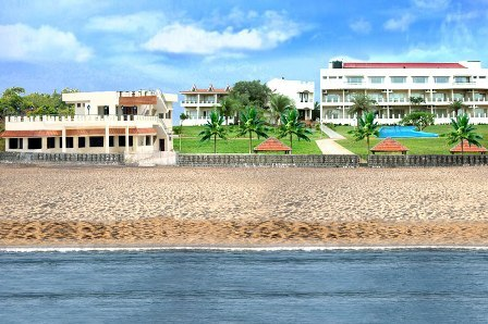 St james court beach resort pondicherry use coupon code bestdeal for Villas in pondicherry with swimming pool