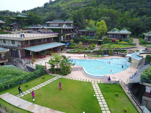 The upper deck resort lonavala room rates reviews deals - Hotel with private swimming pool in lonavala ...