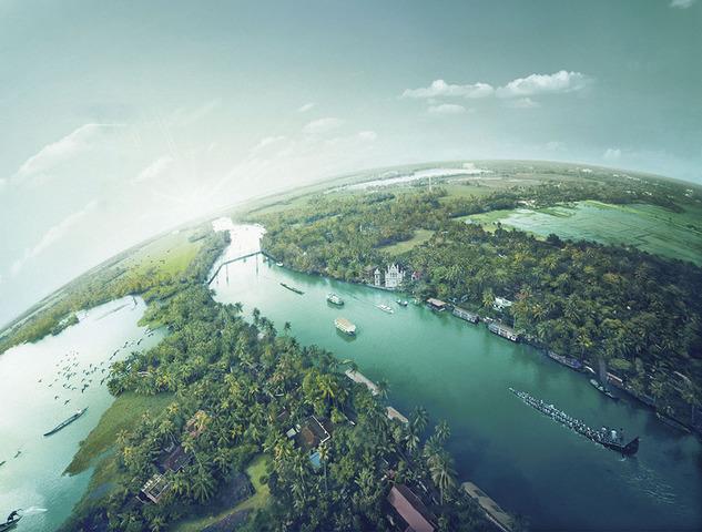 Kerala-backwaters-Alleppey-alappuzha