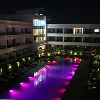 Pool-Side-View-Night