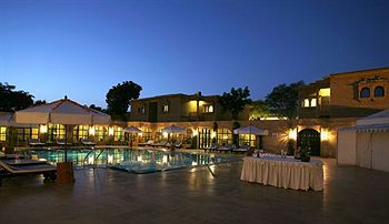 Gorbandh palace jaisalmer room rates reviews deals - Jaisalmer hotels with swimming pool ...
