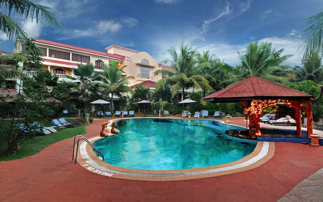 Club mahindra emerald palms goa use coupon code bestdeal for Resorts in goa with private swimming pool