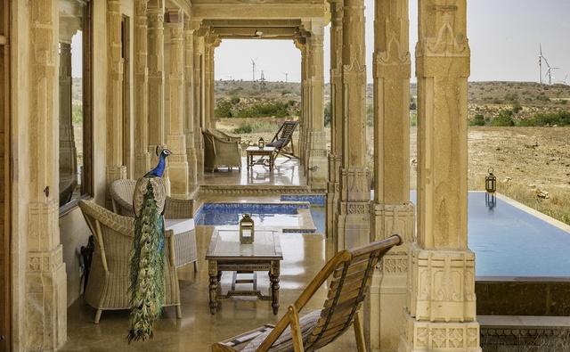 Suryagarh jaisalmer room rates reviews deals - Jaisalmer hotels with swimming pool ...