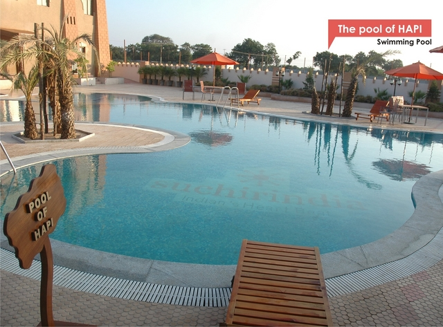 Papyrus port hyderabad use coupon code festive for Resorts with private swimming pool in hyderabad