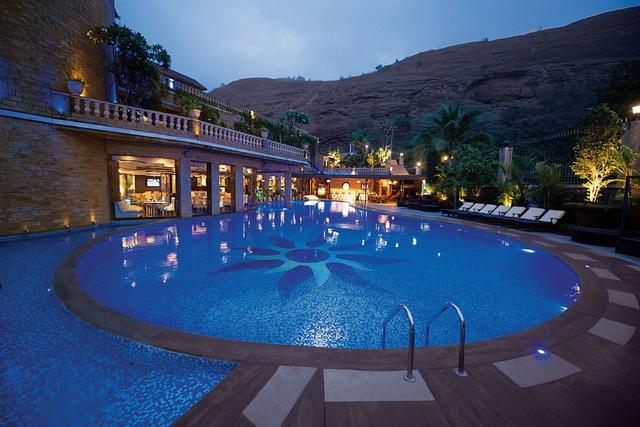 Della resorts lonavala room rates reviews deals - Hotel with private swimming pool in lonavala ...