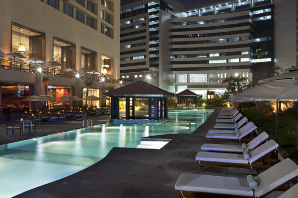 The westin hyderabad mindspace hyderabad use coupon code freedom for Resorts with private swimming pool in hyderabad
