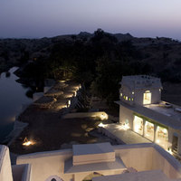 Lakshman_Sagar-_View_at_Night