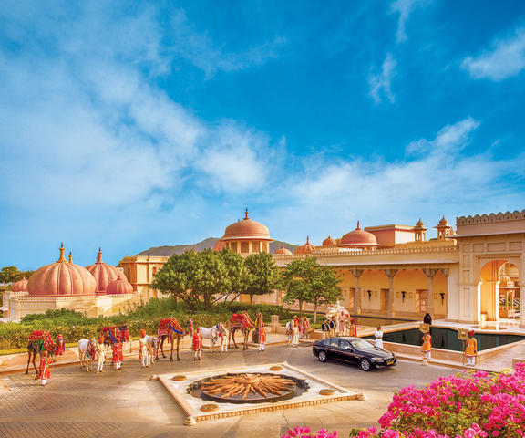 The Oberoi Udaivilas, Udaipur. Use Coupon Code >> FESTIVE