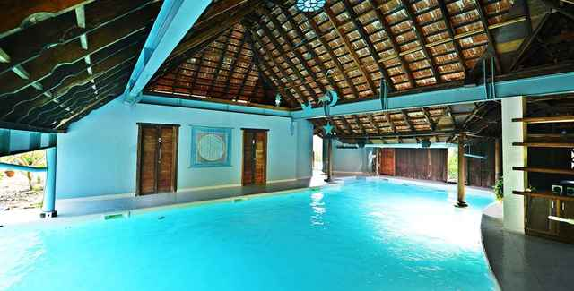 The dune eco village and spa pondicherry use coupon code festive for Hotels with swimming pool in pondicherry