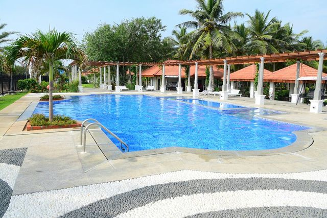Rkn beach resort pondicherry use coupon code festive for Hotels with swimming pool in pondicherry