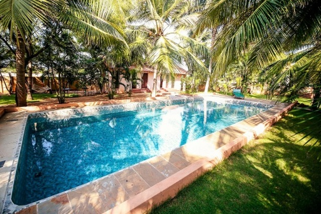Rkn beach resort pondicherry use coupon code festive for Resorts in goa with private swimming pool
