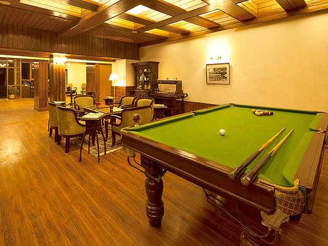 Pool-in-lounge