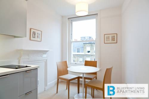 Blueprint living apartments doughty street london use coupon guest room malvernweather Image collections