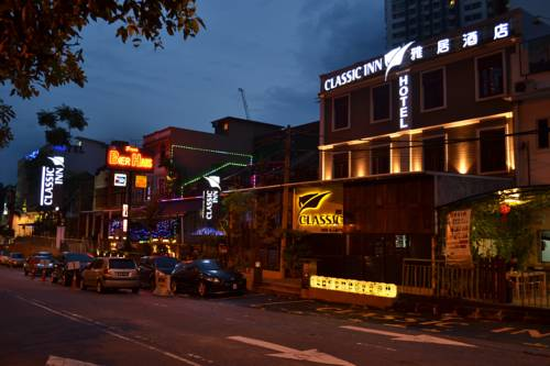 Image result for classic inn KL  at night
