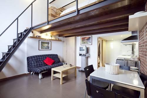apartment with loft studio 8581766 apartment loft chic barcelona reviews photos room rates