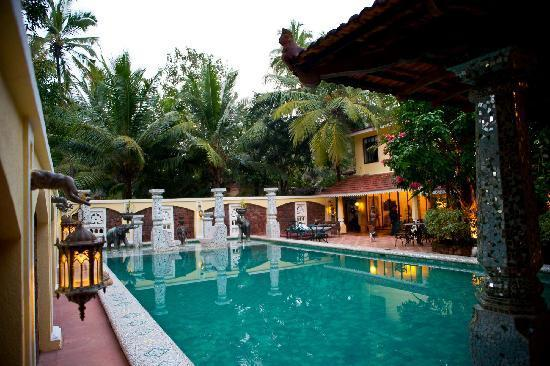 Neemrana ishavilas goa use coupon code bestbuy for Resorts in goa with private swimming pool