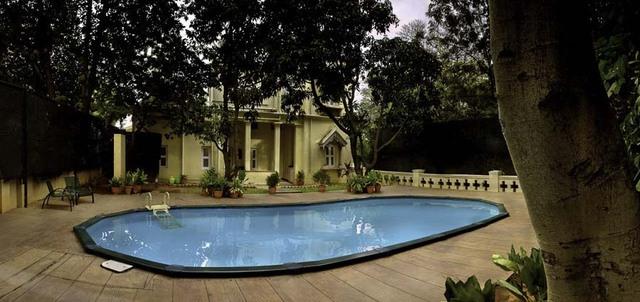 Neemrana villa pottipati bangalore use coupon code festive for Bangalore resorts with swimming pool