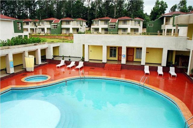 Haritha mayuri resort araku valley room rates reviews - Araku valley resorts with swimming pool ...