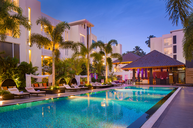 Hard rock hotel goa goa use coupon code bestbuy for Resorts in goa with private swimming pool