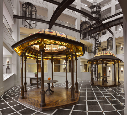 Gazebos_at_The_Atrium_Lobby