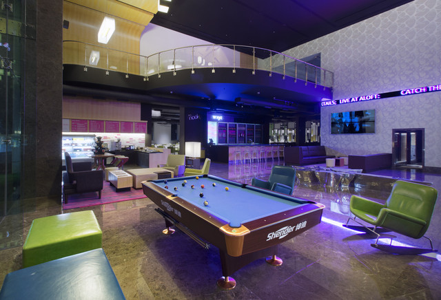 Pool_table_-_Night
