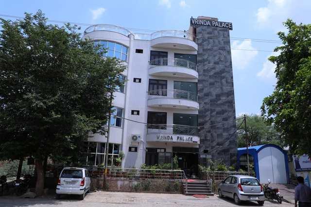 Hotel Vrinda Palace Mathura Front View 111370531307 Jpeg