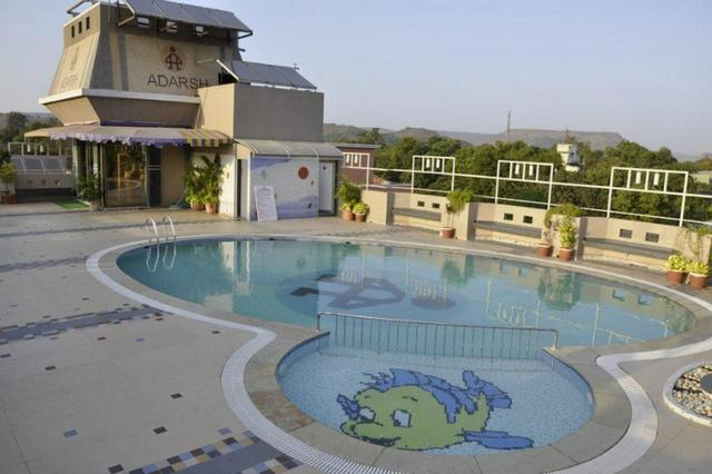 The adarsh hotel lonavala use coupon code festive for Resorts in khandala with swimming pool